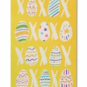 American Greetings Eggs and Kisses Easter Card wit